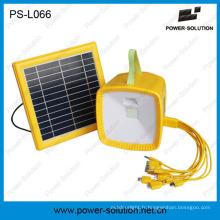 Lampe d'énergie solaire de voyant de batterie de lanterne rougeoyante avec la radio