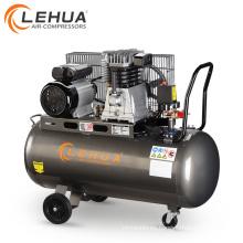 Compresor de aire de inflado de neumáticos de 3hp 200litre impulsado por correa