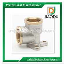 1/2 Inch DN15 female male Brass/ Nickel plated /Chrome plated,nautre Yellow thread brass Wall Elbow fitting