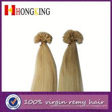 Двойной Прошитый Наращивание Волос Уток Циндао