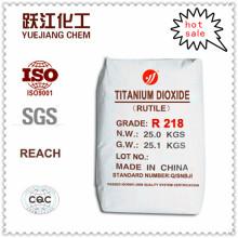 Dióxido de Titânio TiO2 Rutilo Econômico para Uso Geral