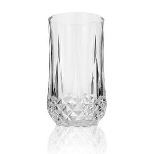 Elegant Diamond Cut Clear Glass set