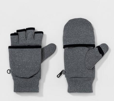 Women Mittens Grey