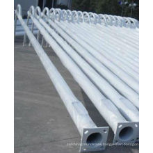 Hot Dipped Galvanized Street Steel Light Pole