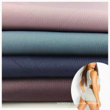 factory supply free sample nylon spandex interlock high elastic fabric for making lingerie