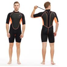 short sleeve swimming mens wetsuit