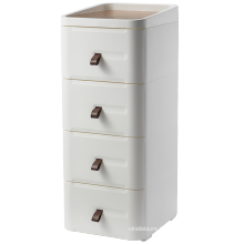 High Quality Wooden Nightstand with Four Drawers