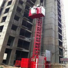 Grue de bâtiment à double cage / grue de construction à vendre