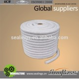 Hot Sale Ceramic Fiber Round Insulation Rope From Tenglong China