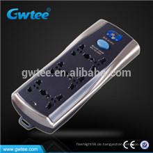Gemacht in China universal 6-Wege-Steckdose elektrische Steckdose