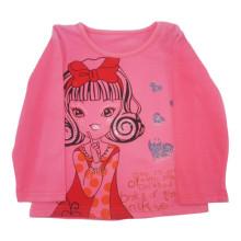 Frühling Kinder Mädchen T-Shirt in Kinderkleidung