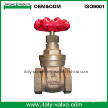 Nueva válvula de puerta de bronce de calidad de diseño (AV4060)