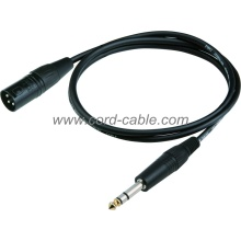 DMD Series M XLR to Stereo Jack Microphone Cable