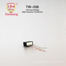 Mini transformador de alta frecuencia para encendedor de arco