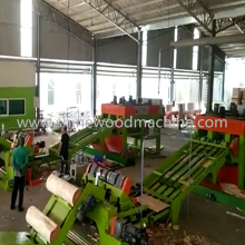 8 Feet Veneer Peeling Line for Plywood Making
