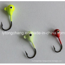 Tungsten Drop Ice Jig Head with an Eyelet 4.0mm, 5.0mm&6.0mm