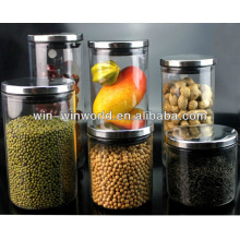 Airtight Borosilcate Glass Cookie Jars Wholesale