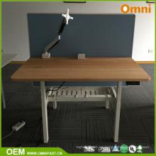 Alto estándar de venta caliente altura ajustable mesa