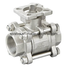 """1"""" 304 Ball Valve with ISO 5211"""