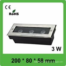 Alta qualidade CE e piscina de luz subaquática ROHS AC12V-24V IP68, 3 anos de garantia