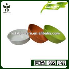 Tazón de fuente colorido de la fibra natural 100% de la planta