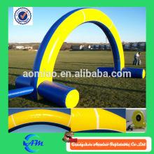 Arceau gonflable publicitaire de l'aire de jeux d'arc d'hiver à vendre
