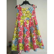 Tecido de camada de ar para o vestido da menina princesa
