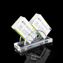 Vertical Acrylic Business Card Display Stand