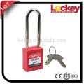 Safety Lockout 76mm Steel Long Shackle Padlock
