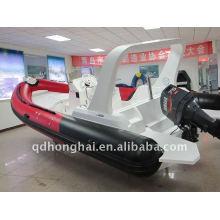 2011 года новой горячей RIB680A Спорт надувные лодки яхты