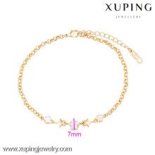 73965 Xuping горячие продаж женщины ювелирных изделий Золотая Звезда Браслет