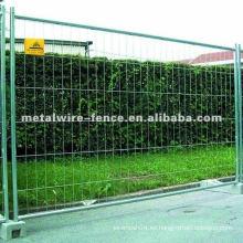 Caliente-sumergió la cerca temporal soldada galvanizada (fábrica)