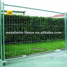 Hot-dipped Galvanized Welded Temporary Fence (factory)