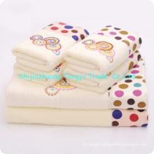 high quality woven ,jacquard ,applique Microfiber towel hand towel,face towel