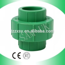 Plastic PPR Union Pipe Fittings ppr universal pipe union connector