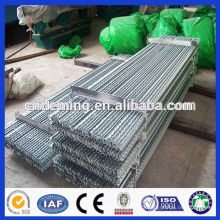 Hot dipped galvanized 1.8m Steel Y Picket Posts For Grassland