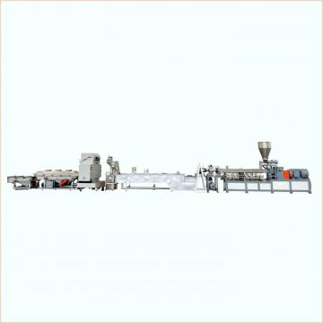 Conical Twin Screw Extruder Machine PVC Plastic Pipe Production Line