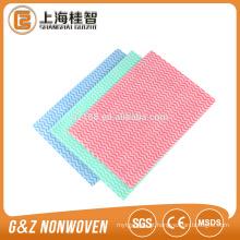 Não-tecido de malha transversal para toalhas secas