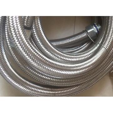 Manga de fio trançado de aço inoxidável resistente ao calor