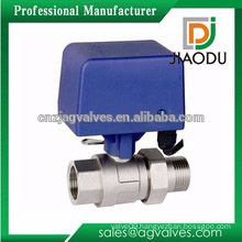 1 or 2 or 3 or 4 inch cw614n brass electric water valve for water