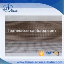 Braun 4x4mm Maschenweite Teflon beschichtetes Glasfasergewebe