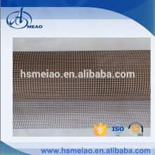 Marrón malla 4x4mm Tela de fibra de vidrio recubierta de Teflon