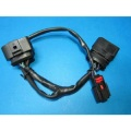 Medical metal pole male-female wiring
