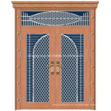 Com porta de cobre de segurança de aço inoxidável de aço inoxidável de cor decorativa (W-GB-12)