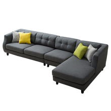 Sectional L-Shape Soffa Höger Arm Facing Chaise