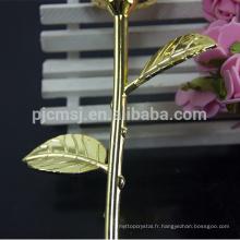 Fleur rose en cristal de qualité supérieure largement utilisée