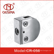 D Shape Stainless Steel Glass Clamp