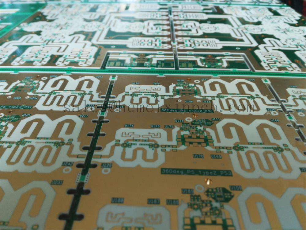 RF circuit boards