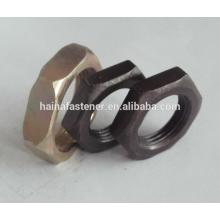 S304 S316 Aço Inoxidável cabeça hexagonal Thin Nut M3-M100