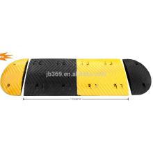 joroba de goma de buena calidad usada en el camino con el tamaño 1000 * 450 * 50m m